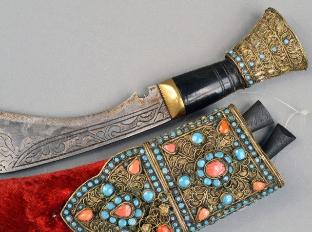317: Indian Ceremonial Kukri - 3