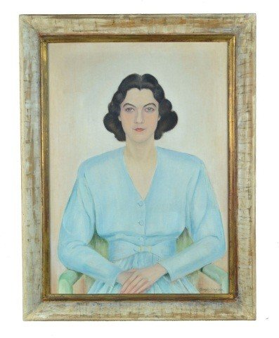 American School (20th c.) Portrait of a Woman