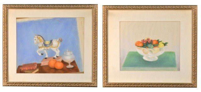 Pair of Table Still Life Paintings
