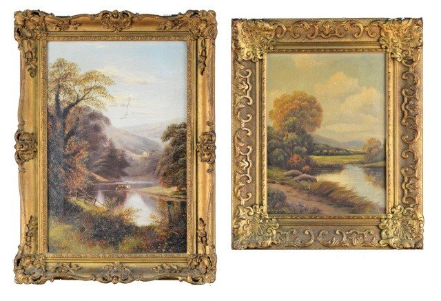 15: Two Landscape Paintings