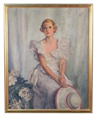 21: Portrait of Lady in White