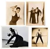 114: Four Photographs of Erick Hawkins The Dancer