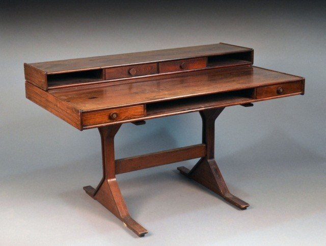 319: Contemporary Rosewood Desk