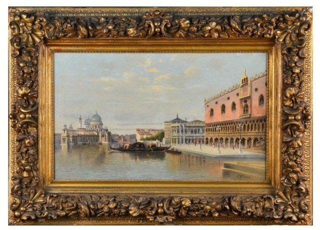 1: V. Tomola, Italian School,  Venice