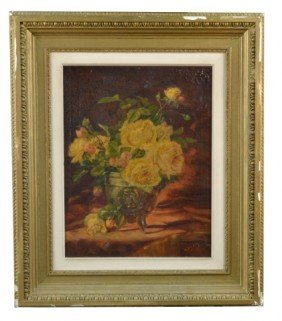 11: M. Hardy   Floral Still Life