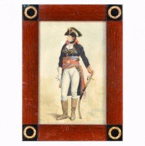 22: Friedrich Randel (Ger, 1808-1886)  Soldier