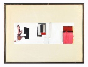 F. Garc�a Ponce (Mex,1933-1987) Geometric Abstract