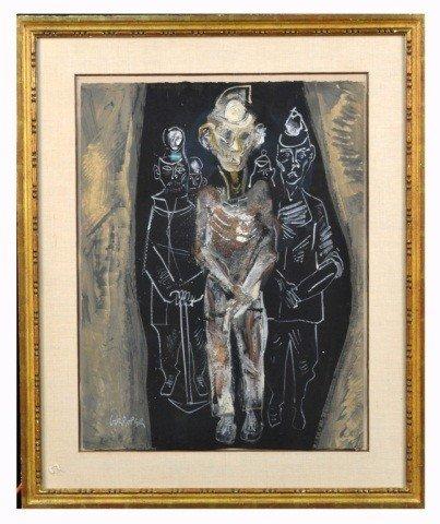 67: William Gropper (Am, 1897-1977)  Miner