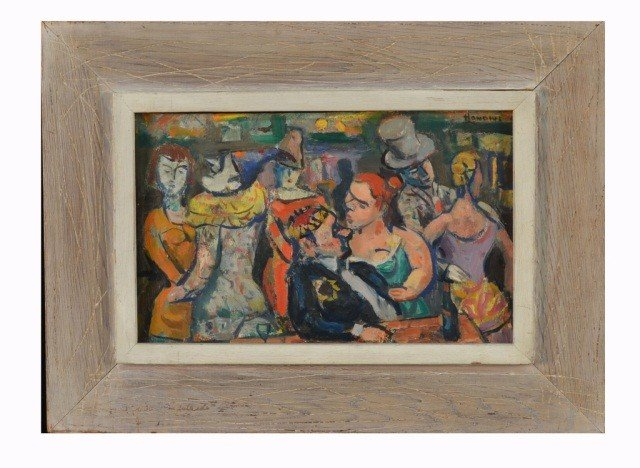 68: Gerrit Hondius (Am/Dutch, 1891-1970)  Carnival