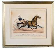 135 Currier  Ives Trotting Mare Lucy