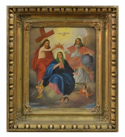 2: Continental School (18th c.) Coronation of Mary