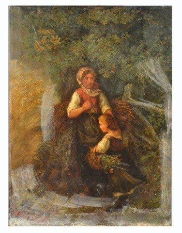 12: Henri de Beul (Bel, 1845-1900)  Woman with Child