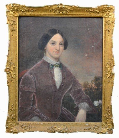 14: J.H. Egin, Portrait of a Lady