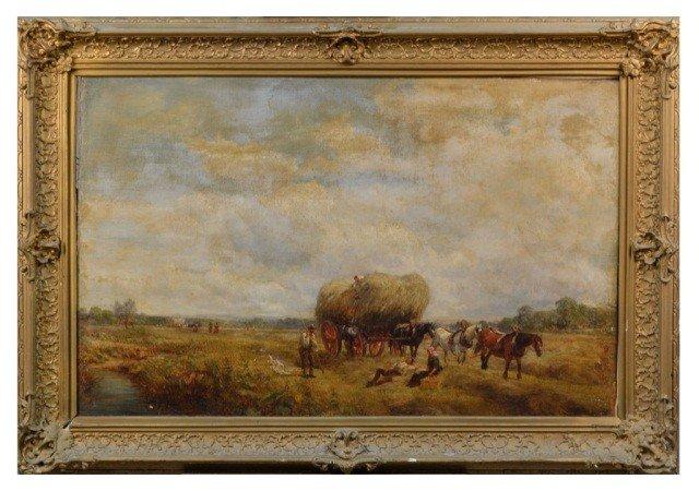 15: Attr. C.T. Burt (Brit., 1823-1902)   Pastoral Scene
