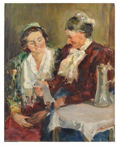 18: Arthur William Woelfle (Am., 1873-1936) Bavarians