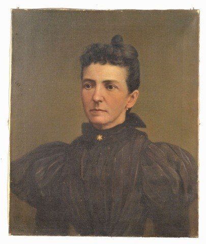 22: H.R. Burdick (Am., 1844-1942)  Woman in Black
