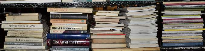 334 Assorted Group of Books on Prints