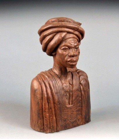 366: Benoit Konongo (Afr. 20th c)  Bust of  Dignitary