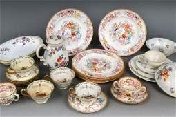 598 Miscellaneous Group of Porcelain Table Articles