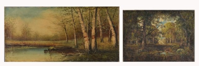 19: Two 20th Century American Landscapes