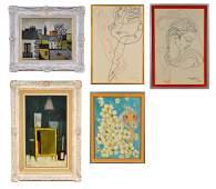 29: Group of Modern Art Works