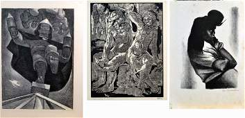 139: Three 20th Century Prints
