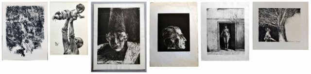 143: A Group of Prints Including Works by Edward Hill