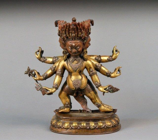 673: Tibeto-Chinese Figure of Hayagriva