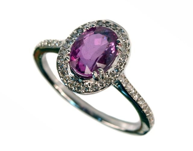 224: Pink Sapphire Ring