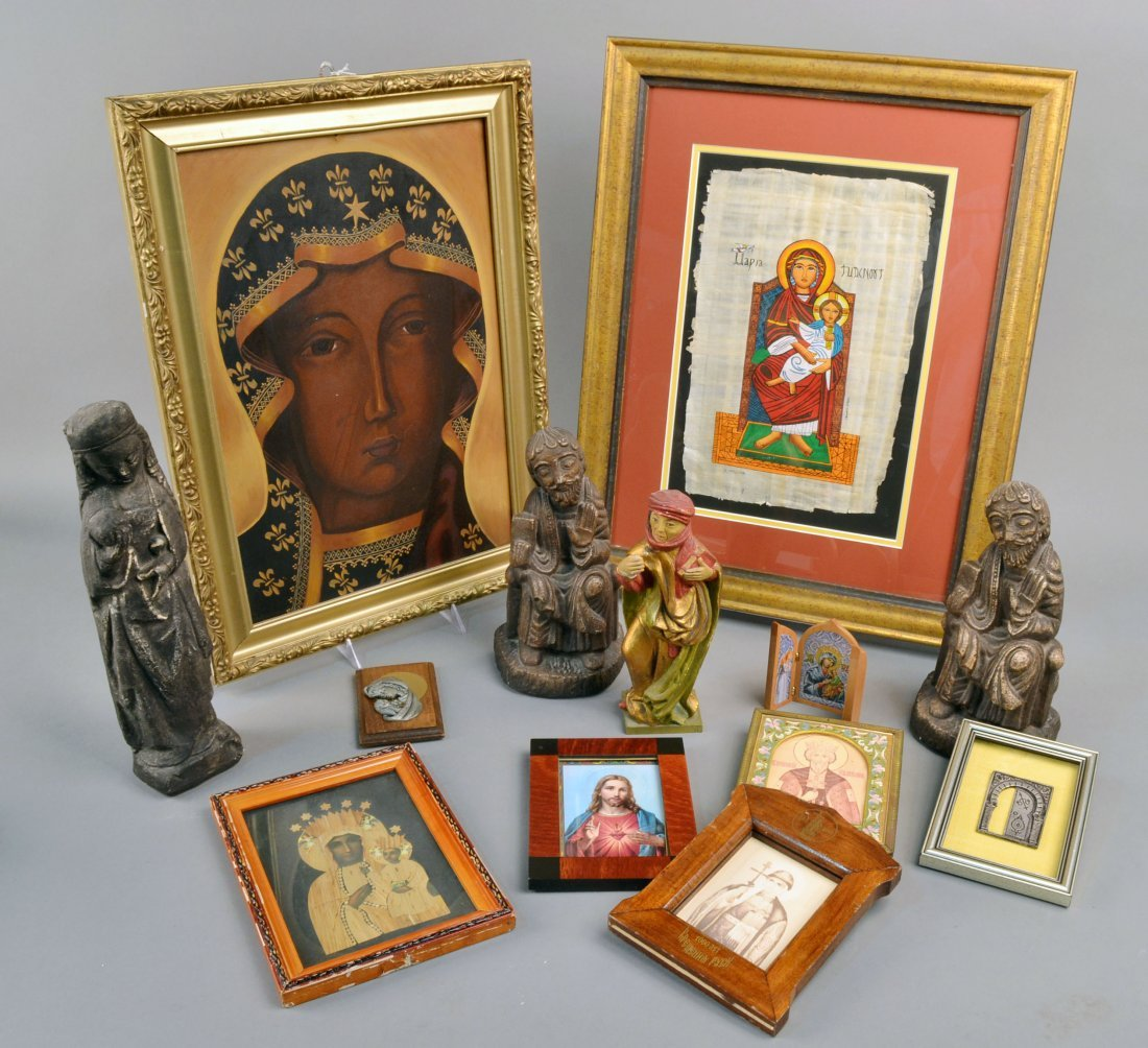 396: Miscellaneous Group of Religious Objects