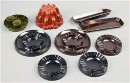 411: Miscellaneous Group of Bakelite Articles