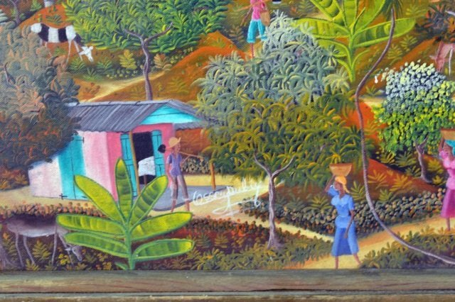 62: Ossey Dubic (Haitian, 1943-) - 2