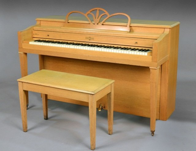 239: Cable-Nelson Upright Piano