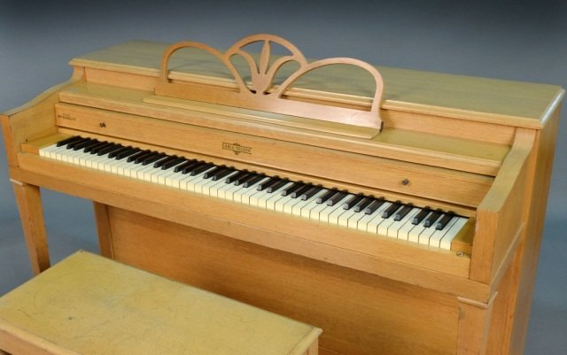 239: Cable-Nelson Upright Piano - 2
