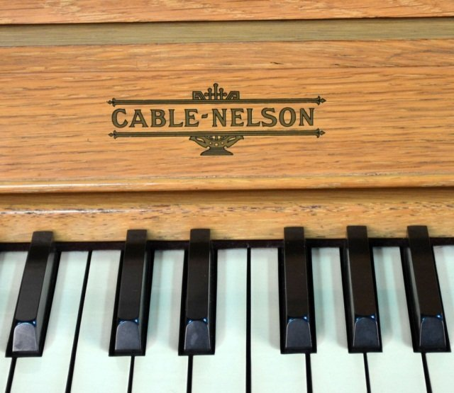 239: Cable-Nelson Upright Piano - 3
