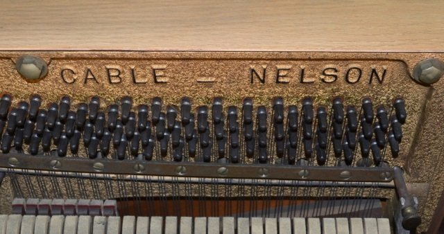 239: Cable-Nelson Upright Piano - 4