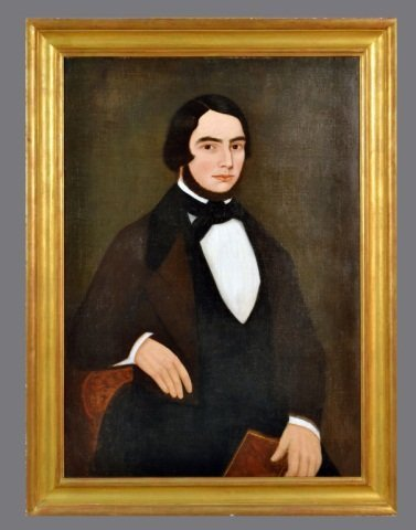 8: Attributed to Noah North (American, 1809-1880)   #*
