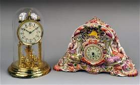 536: Two Table Clocks