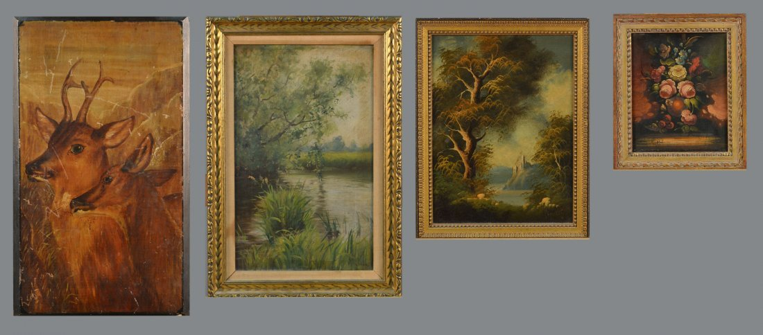 2: Group of Paintings (20th Century)