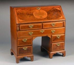 271: George III Mahogany Slant Front Desk