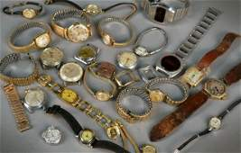 Miscellaneous Group of Wristwatches