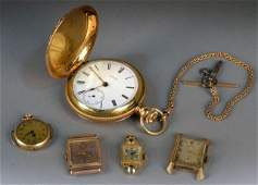 Miscellaneous Group of Gold  Silver Gilt Watches