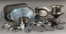 Miscellaneous Group Of Silver Plated Articles