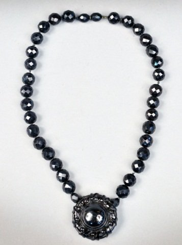 French Jet Necklace