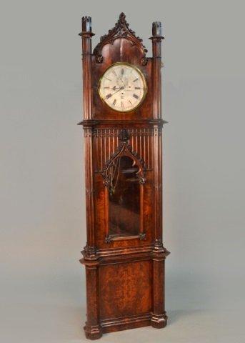 William IV Mahogany Tall Case Clock   *