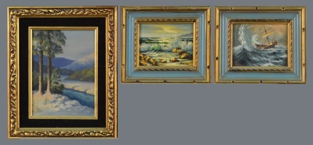 Group of Paintings (20th Century)