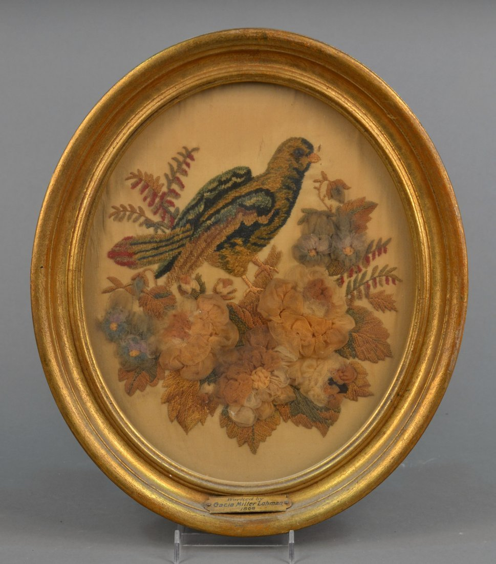 Bird Picture Dated 1868