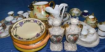 Miscellaneous Group of Porcelain Table Articles