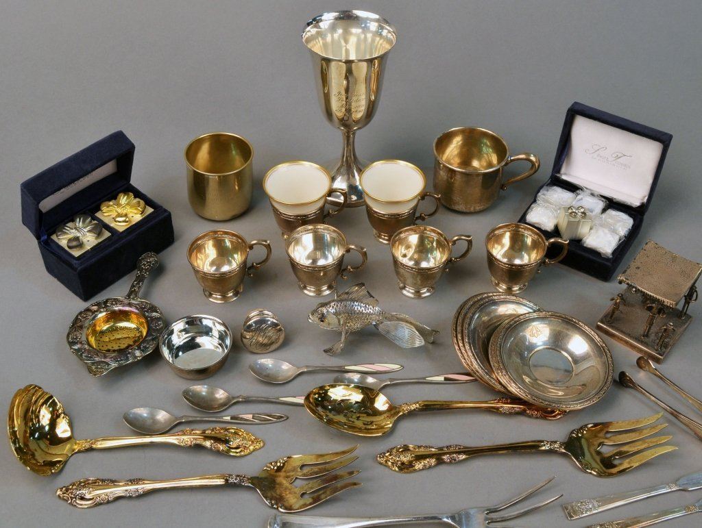 Miscellaneous Group of Sterling Silver Articles