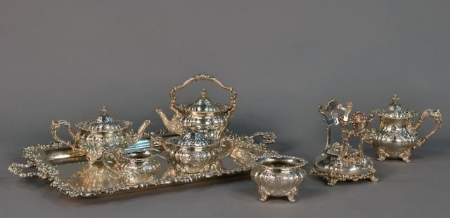 Gorham Sterling Silver Coffee & Tea Service